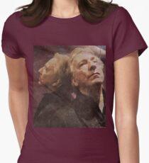 Alan Rickman  Women's Fitted T-Shirt
