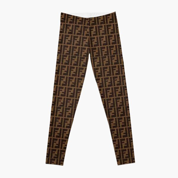 Fendi Collage Leggings