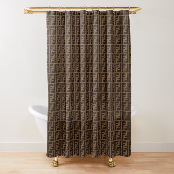 Fendi Collage Shower Curtain