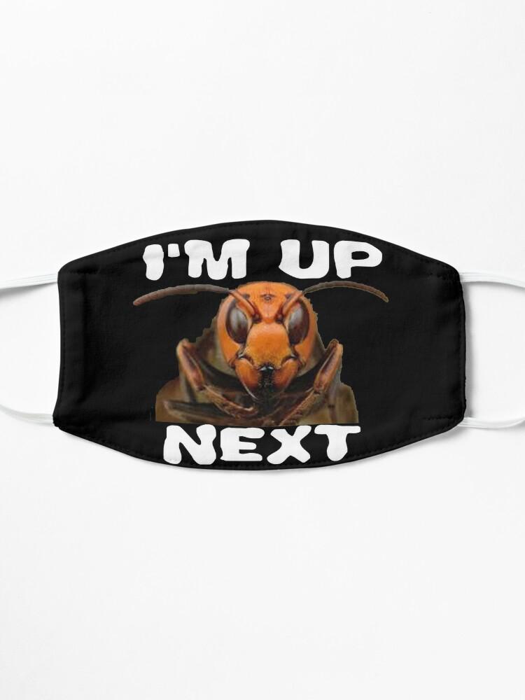 Alternate view of I'm up Next Design Murdering Hornet Mask
