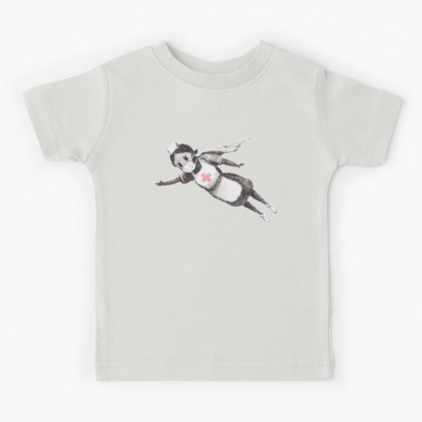 Super Nurse (Banksy - Changeur de jeu) T-shirt enfant