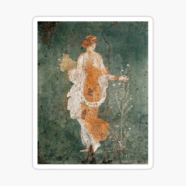 Pompeii, Primavera (Spring) Sticker