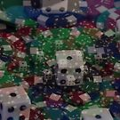 Dice everywhere by Anthony Keevers