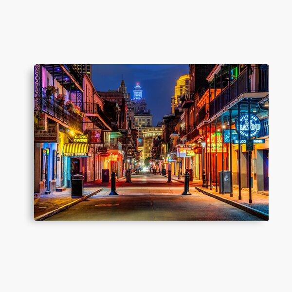 Bourbon Street, New Orleans Canvas Print