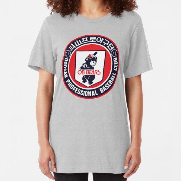 Doosan Bears Professional Baseball - KBO Slim Fit T-Shirt