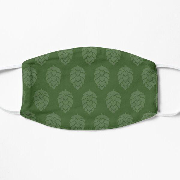 All Green Hops Flat Mask