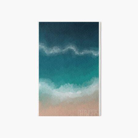 Deep Waters Art Board Print