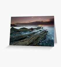 """Shale Shelves"" ∞ Rocky Cape N.P, Tasmania - Australia Greeting Card"