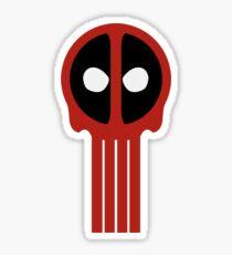 Insane Vigilante!! Sticker