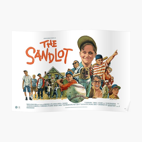 The Sandlot Movie Poster Poster