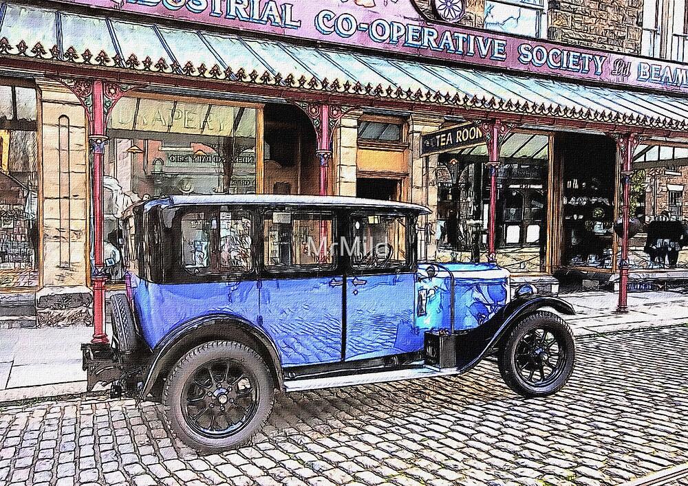 Vintage saloon by MrMild