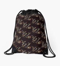 I am a DEXTER Junkie Drawstring Bag