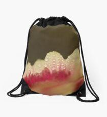 Weeping White Drawstring Bag