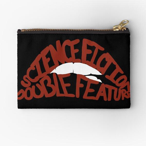 Science Fiction Double Feature Zipper Pouch