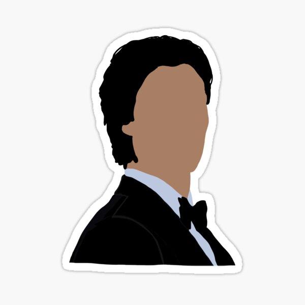 Damon Salvatore Sticker Sticker