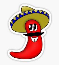 Sombrero Chilli Sticker