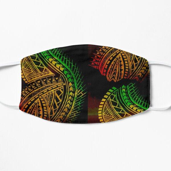 Love for Polynesian Tribal  Flat Mask