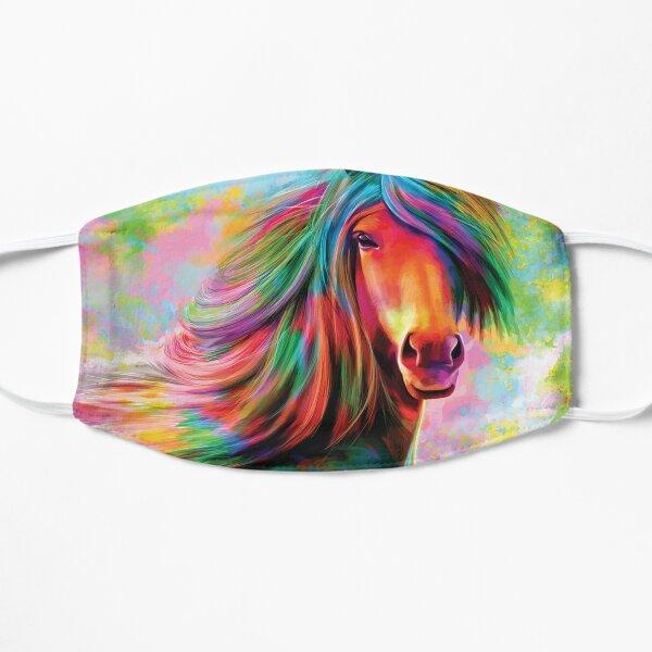 Rainbow horse Mask