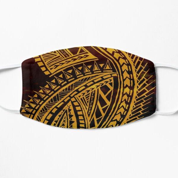 Sunset Polynesian Tribal  Flat Mask