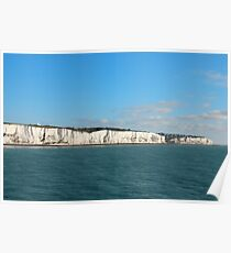 Last cliffs of the United Kingdom near Dover Poster