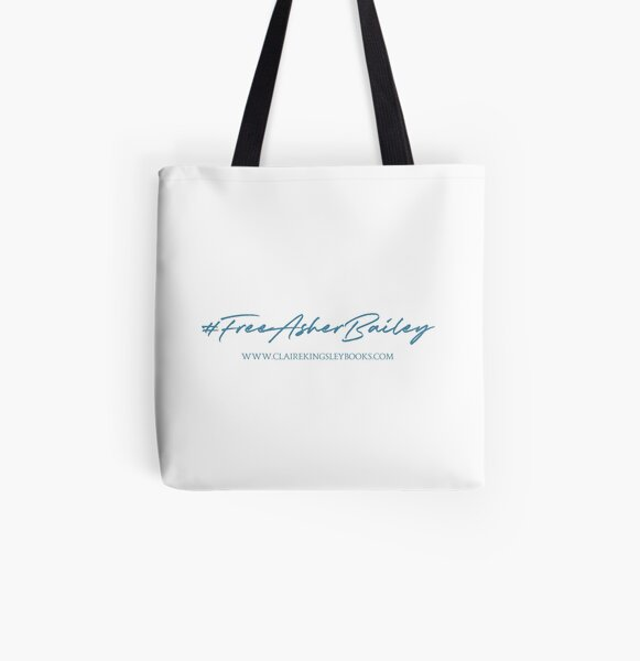 Free Asher Bailey All Over Print Tote Bag