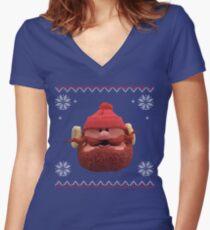 Yukon Cornelius Women's Fitted V-Neck T-Shirt