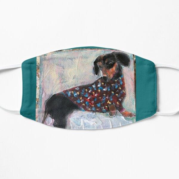 Funky dachshund Mask