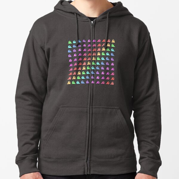 PartyParrot - Conga Party Zipped Hoodie