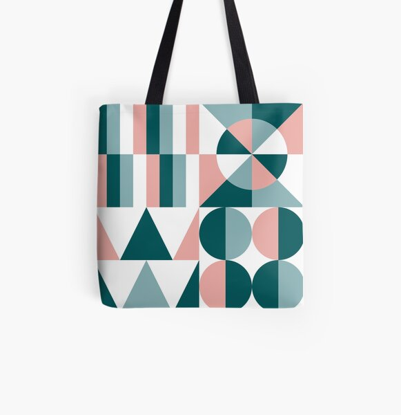 Mid Century Modern II All Over Print Tote Bag