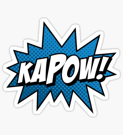 Kapow! Sticker
