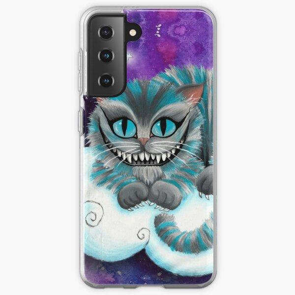 Galaxy Cheshire Cat Samsung Galaxy Soft Case