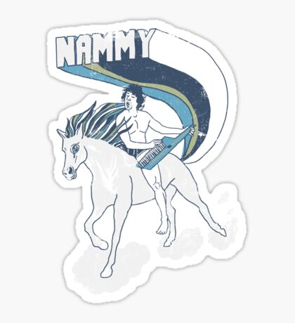 Nammy: Queen of the Stallions Sticker