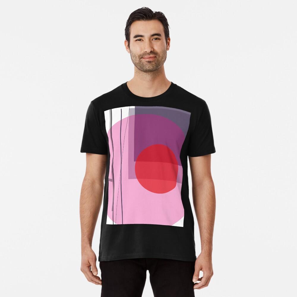 GEO POP WHITE Premium T-Shirt