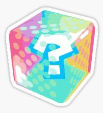 Mario Kart Item Block Sticker