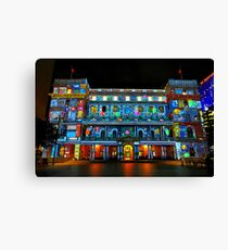 Customs House | Vivid Sydney | 2012 Canvas Print