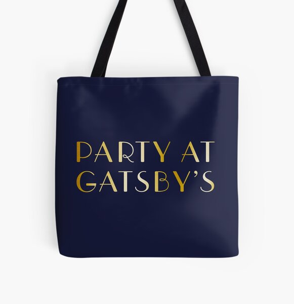Party at Gatsby's All Over Print Tote Bag