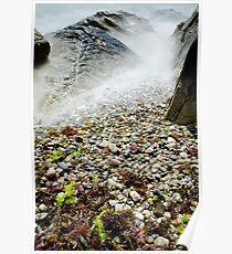 Gooseberry Beach, Newport, RI Poster