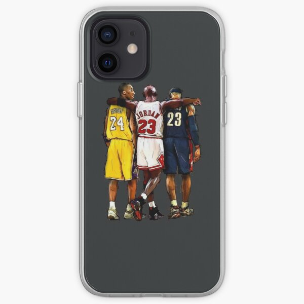 Kobe Michael LeBron - Together iPhone Soft Case
