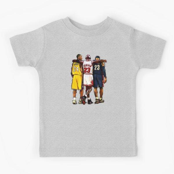 Kobe Michael LeBron - Juntos Camiseta para niños