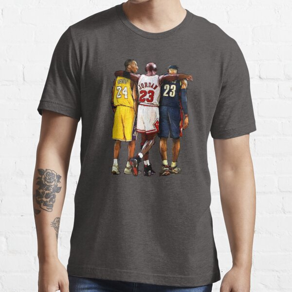 Kobe Michael LeBron - Ensemble T-shirt essentiel