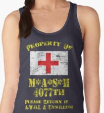 Property Of Mash 4077th Women's Tank Top