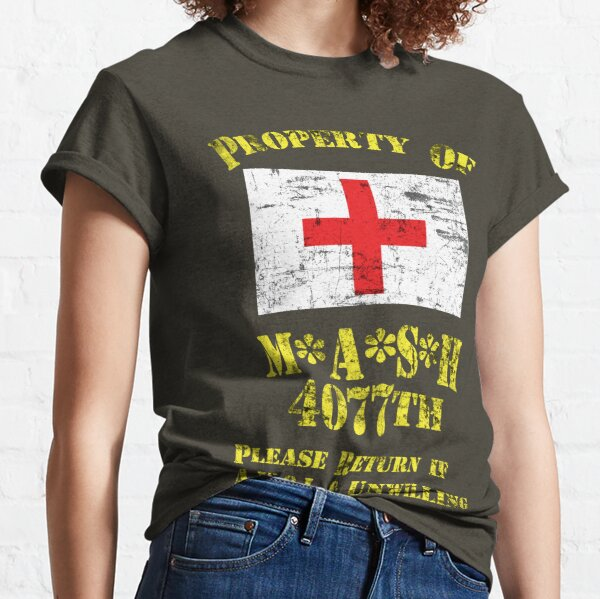 Property Of Mash 4077th Classic T-Shirt