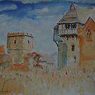 'Stokesay Castle, Shropshire' by Martin Williamson (©cobbybrook)