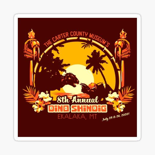 8th Annual Dino Shindig Sticker