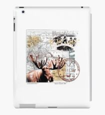 white water iPad Case/Skin