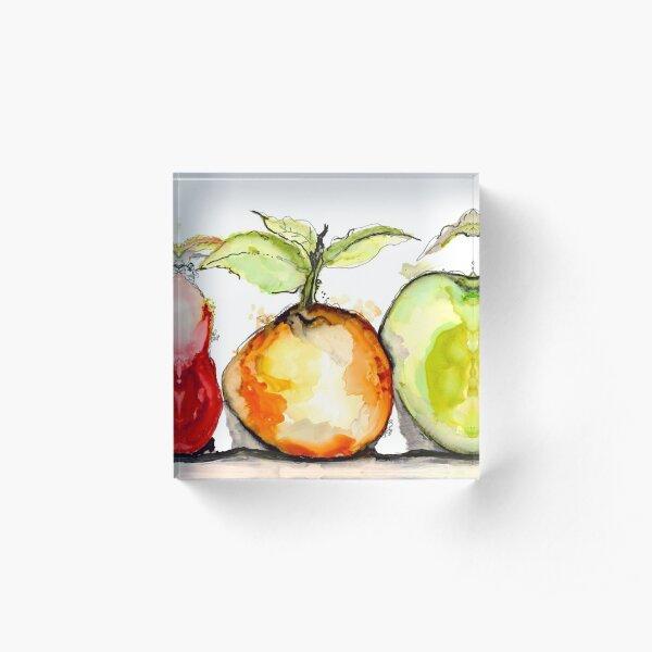 Frut Salad  Acrylic Block