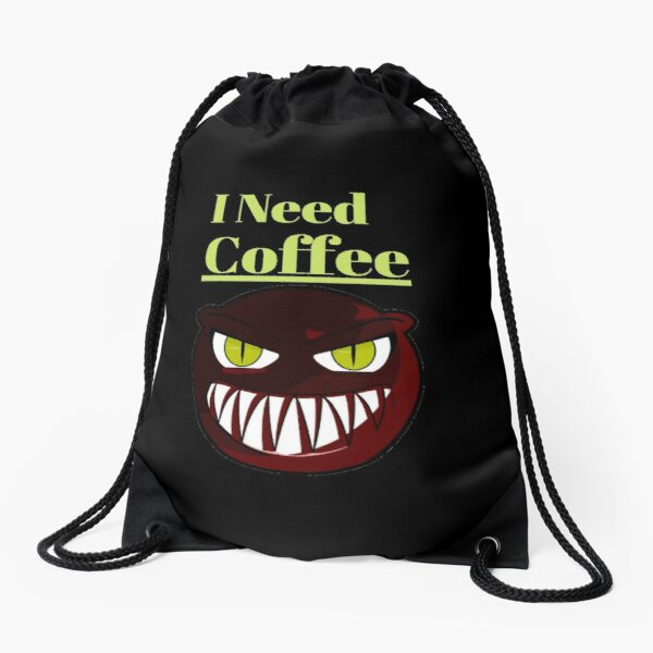 Coffee Lovers Delight Drawstring Bag