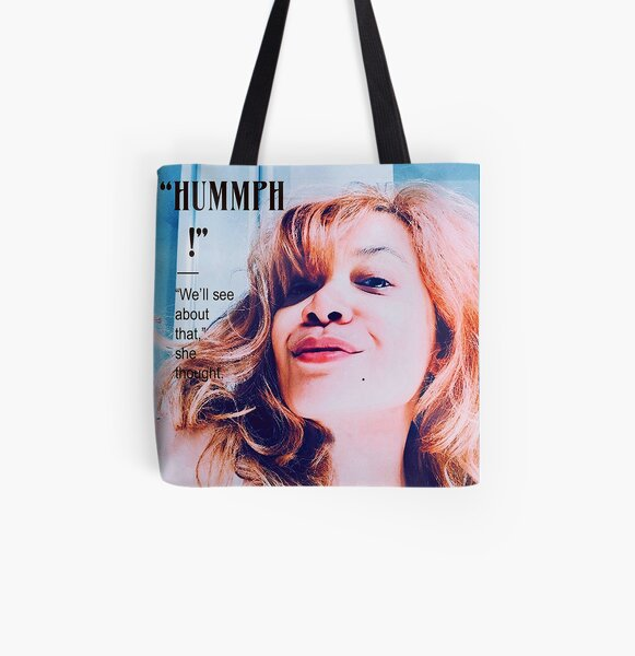 Miss Pinup : Hummph! All Over Print Tote Bag
