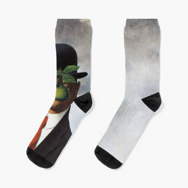 René Magritte - The Son of Man Socks