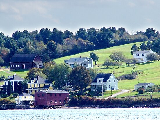 Western Shore, Mahone Bay by George Cousins